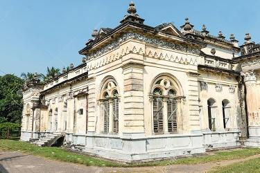 Prominent royal palace in Natore