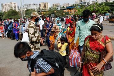 Mumbai in lockdown as Indian vaccines run short