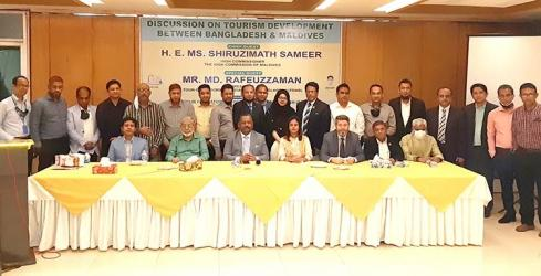 Tourism development discussion held between Bangladesh and Maldives