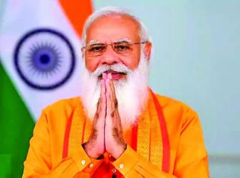 Yoga remains a \'ray of hope\' as world fights Covid: Modi