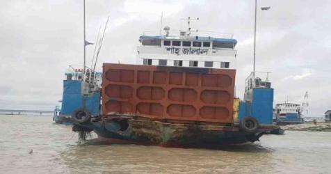 20 hurt as ferry hits Padma bridge pillar