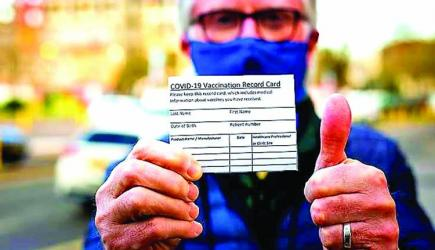 \'Less than 1pc of fully vaccinated people experience a breakthrough Covid infection\'