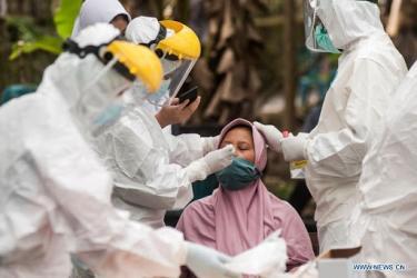 Global COVID-19 cases surpass 200 mln: Johns Hopkins