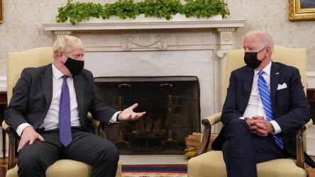 Johnson and Biden meet at White House